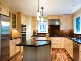 glazed maple kitchen cabinets contemporary kitchen flooring light maple kitchen cabinets with