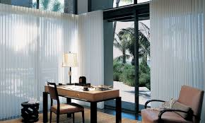 Patio Door Window Panels Window Treatments For Patio U0026 Sliding Glass Doors Hunter Douglas