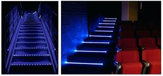 led strip lights for stairs cool led step lighting odyssey led strip light by aurora deck