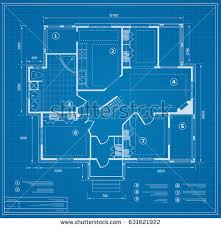 blue prints for a house blueprint stock images royalty free images vectors