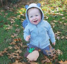 no sew diy baby squirrel baby costume primary com