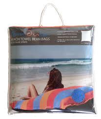 sandusa beach towel bean bag yellow jr outdoor cushion pillow