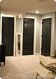 Black Interior Paint Black Interior Doors How To Steps For The Home Pinterest