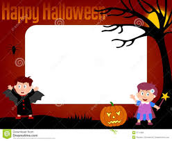 halloween picture frames 4个框架万圣节照片图库摄影 图片 5771402