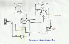 wiring diagrams air conditioner wiring diagram capacitor where