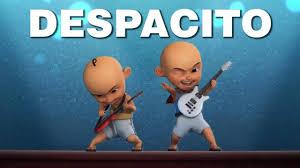 despacito enak dong mp3 parodi despacito versi upin ipin youtube
