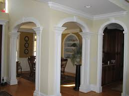 interior arch designs for home square interior columns with arches home ideas