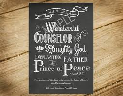 chalkboard christmas card bible verse isaiah 9 6 religious