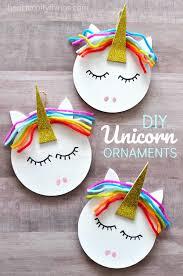 how to make a unicorn ornament unicorn ornaments