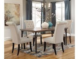 ashley dining room tables ashley signature design tripton 5 piece rectangular dining room
