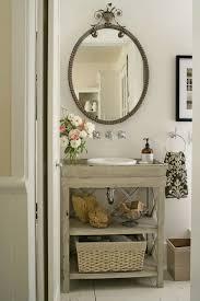 Antique Looking Bathroom Vanities Small Bathroom Solutions Vintage Bathrooms Wall Mount Faucet