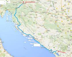 Zagreb Map New Bus Route From Podgorica To Dubrovnik Split And Zagreb