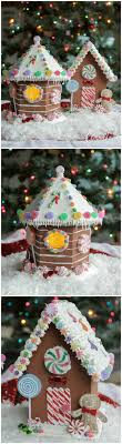 birdhouse gingerbread house non edible so you can use it every year