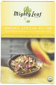 amazon com mighty leaf herbal tea organic african nectar 15