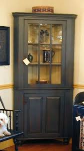 corner hutch cabinet for dining room corner hutch cabinet would like to do this to my curio in our