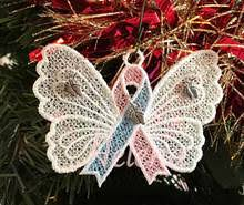 infant loss ornament 3 sets of on pregnancy infant loss ribbon ornament and 3