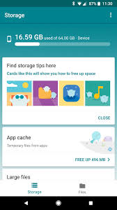 google u0027s new files go app offers easy storage management and file