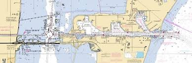 port canaveral map trident pier cape canaveral florida