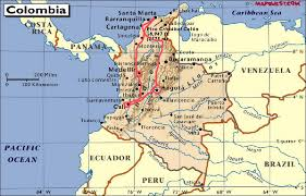 Map Of Colombia Cali Colombia Map Uptowncritters