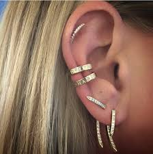 what is ear cuff ear cuff with custom lettering fisher jewelry