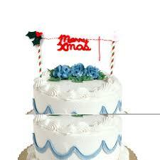 home cake decorating supply christmas xmas birthday cases flag picks cup cake decorating kit