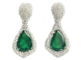 earrings uk diamond jewellery london large emerald earrings