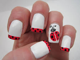 creative nail design by sue april showers bring may flowers
