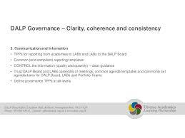 academy governance conference slides