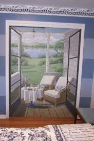 a look at the hand painted doors here in my house fred gonsowski