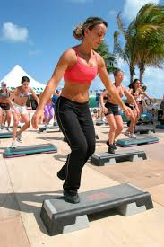 Teh Fitne an exercise class at the fitness festival at lummus park pictures