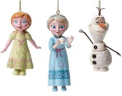 Jim Shore Christmas Ornaments Uk by Disney Traditions Collection From Frozen Elsa Anna U0026 Olaf