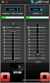 android freeware dj mixer mp3 player lite free android app android freeware