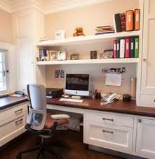 Built In Home Office Desk By BuiltInBetter On Etsy  Desk - Office design home