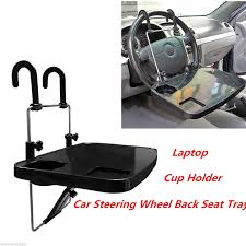Laptop Steering Wheel Desk Laptop Stand Notebook Desk Steering Wheel Food Drink Holder Tray