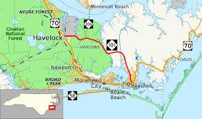 Map Of Outer Banks Nc North Carolina Highway 101 Wikipedia