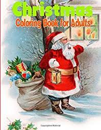 amazon christmas coloring book adults 9781505659719
