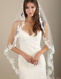 wedding veil styles bel aire bridal veils v7322 1 tier waltz length cascading veil