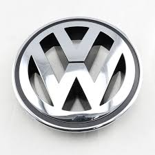 volkswagen logo black and white oem front center grille chrome emblem badge fit for vw golf jetta