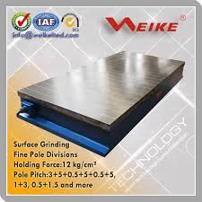 magnetic table for surface grinder electro magnetic table for surface grinder eme 5090 weike