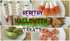Halloween Treats And Snacks Healthy Halloween Treats Diy Easy Recipes Youtube