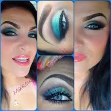 school of makeup artistry illamasqua ltd ltd stunning teal eye make up from jaime using
