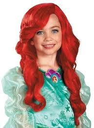 Mermaid Halloween Costume Kids Mermaid Ariel Costume Wig Mermaid Halloween Costumes