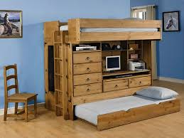 Bunk Bed With Study Table Contemporary High Bunk Bed With Desk Underneath Desk With Bed On