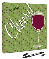 wine birthday canvaskudos com canvas kudos celebration gift unique