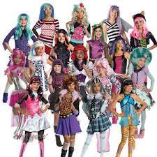 Monster Halloween Costumes Girls Girls Monster Fancy Dress Costume Ebay
