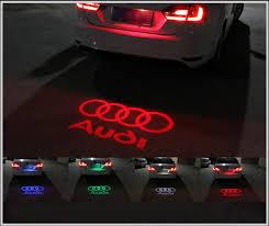 12v led car door welcome courtesy ghost shadow logo laser