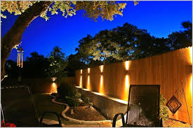 outdoor fence lighting ideas outdoor solar lights for fence outdoor designs