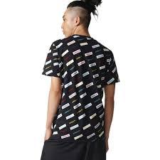 adidas pants youth adidas originals trefoil aop t shirts black