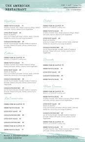 drinks menu template free sales letter examples free printable