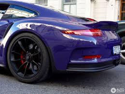 porsche purple porsche 991 gt3 rs 19 september 2016 autogespot